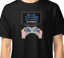 Blue Thumbs Gaming: Gamepad Logo Classic T-Shirt