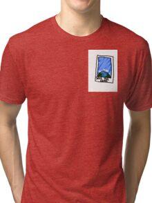 Earth Polaroid Tri-blend T-Shirt