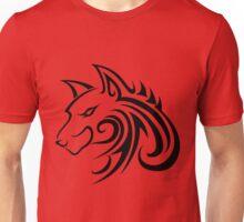 Forme de loup Unisex T-Shirt
