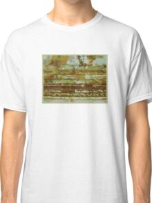 Strata with Distant Trees Classic T-Shirt