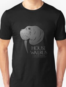 House Walrus (Silver Edition) Unisex T-Shirt