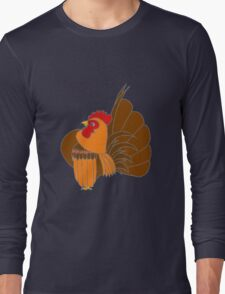 Gold Cocopop (Partridge Base) Long Sleeve T-Shirt