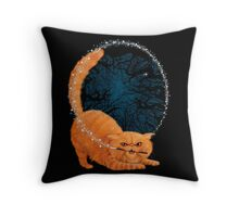 Magic Cat! Throw Pillow