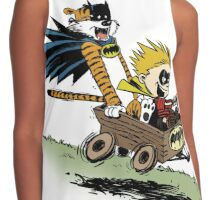 Calvin and Hobbes cosplaying Contrast Tank