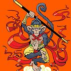 Monkey King by MrChuckles