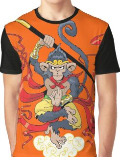 Monkey King Graphic T-Shirt