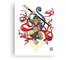 Monkey King Canvas Print