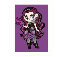 Raven Queen Chibi Art Print