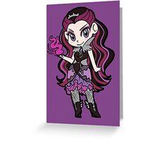 Raven Queen Chibi Greeting Card
