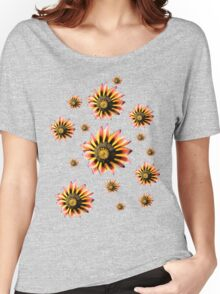 Daisy on Blue Women's Relaxed Fit T-Shirt