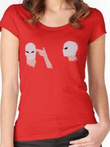 hand guns Women's Fitted Scoop T-Shirt