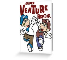 Super Venture Brothers Greeting Card