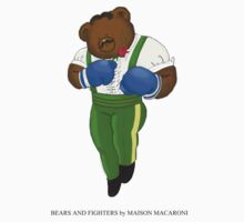 BEARS and FIGHTERS - Dudley by MAISON-MACARONI