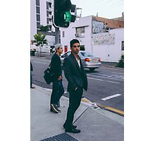 Street Walker. Photographic Print