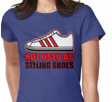 NO SELLING SHOES (6 of 6) Womens Fitted T-Shirt