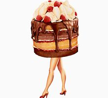 Hot Cakes - Chocolate Raspberry Unisex T-Shirt