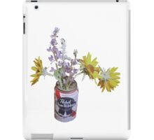 Pabst Flower Vase iPad Case/Skin