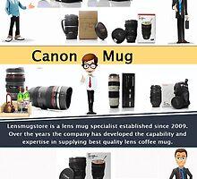 Lens Mug by LensCoffeeMug