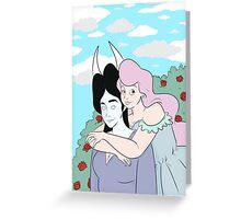Hugs n Roses  Greeting Card
