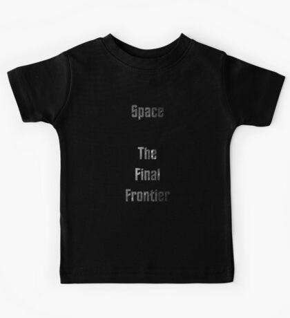 The Final Frontier Kids Tee