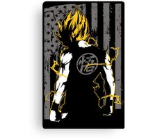 Super Saiyan Goku Shirt - RB00046 Canvas Print