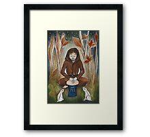 The Drummer Framed Print