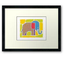Artsy Elephant Framed Print