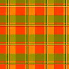 Green, Yellow and Red. Plaid. by Ethiohahu