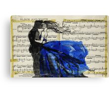 That Vintage Love Song Canvas Print