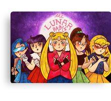 The Lunar Babes Canvas Print