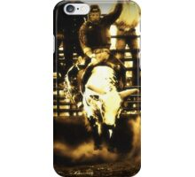 Bull Riding Rodeo Cowboy Country Western iPhone Case/Skin