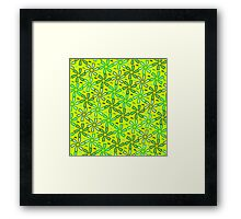 Aestival floral greenery Framed Print