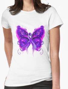 Purplfly Womens Fitted T-Shirt