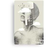 UP TOWN FACET II Canvas Print