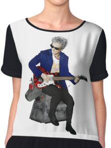 The 12th Doctor and K-9 Chiffon Top