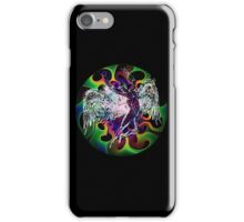ICARUS THROWS THE HORNS - wavy 60's iPhone Case/Skin