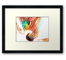 Source of all Rainbows Framed Print