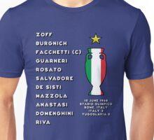 Italy Euro 1968 Winners Unisex T-Shirt