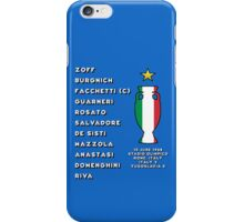Italy Euro 1968 Winners iPhone Case/Skin