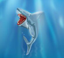 Wild Shark Teeth!  by Nick  Greenaway