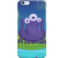 Atomic Frog Thing iPhone Case/Skin