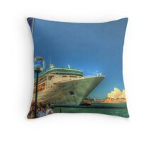 Rhapsody & the Opera House in HDR Throw Pillow