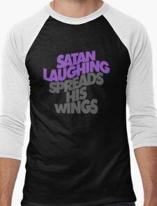 SATAN LAUGHING SPREADS HIS WINGS Men's Baseball ¾ T-Shirt