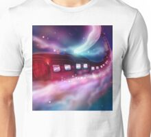 Train Voyage to the Moon Unisex T-Shirt