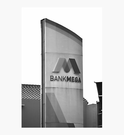 Bank Mega office tower Photographic Print