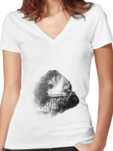 Sookie and the Bridge Women's Fitted V-Neck T-Shirt