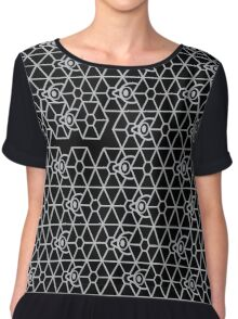 Escape With Tie Fighter Chiffon Top