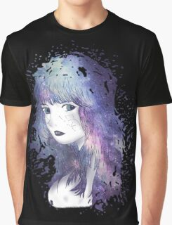 Space Girl Graphic T-Shirt