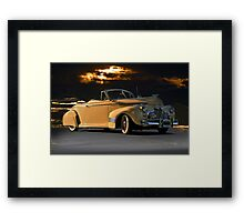 1941 Chevrolet Convertible 'After Midnight' Framed Print