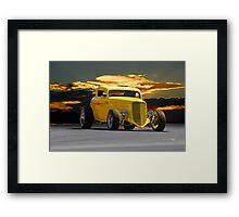 1934 Ford HiBoy 'Lemon Zinger' Coupe Framed Print